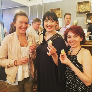 The Rasbperry Cakery team at the launch of Copper