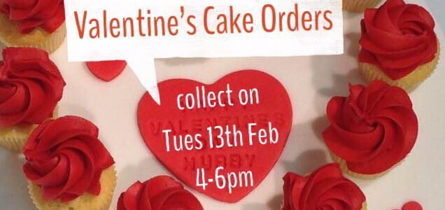Cakes for Valentine's Day