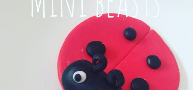 Mini beasts themed cupcake decorating for Children