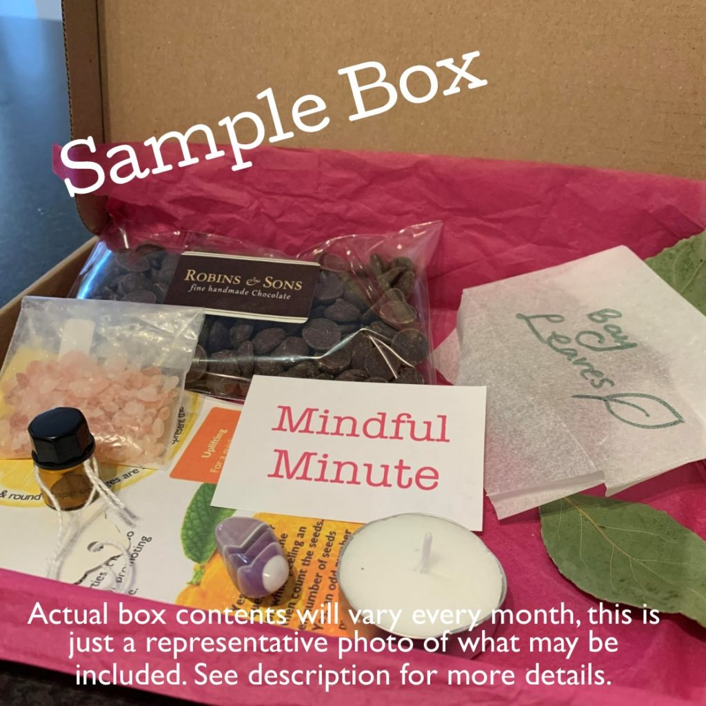 Example of the Magical Baking Subscription Box from The Raspberry Cakery